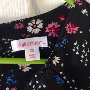 Xhilaration Dresses - Xhilaration XS Floral Print Dress